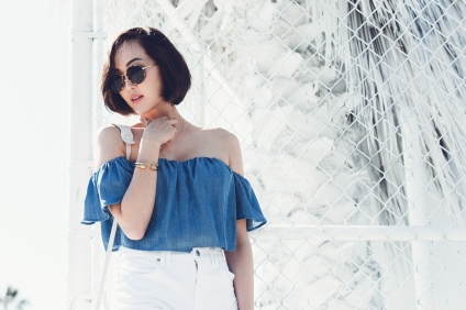 chriselle_lim_denim_off_shoulder_white_coulette_bottoms-3.jpg